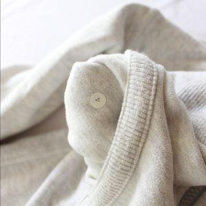 lululemon athletica Jackets & Coats - Lululemon Scuba Jacket, Heathered White